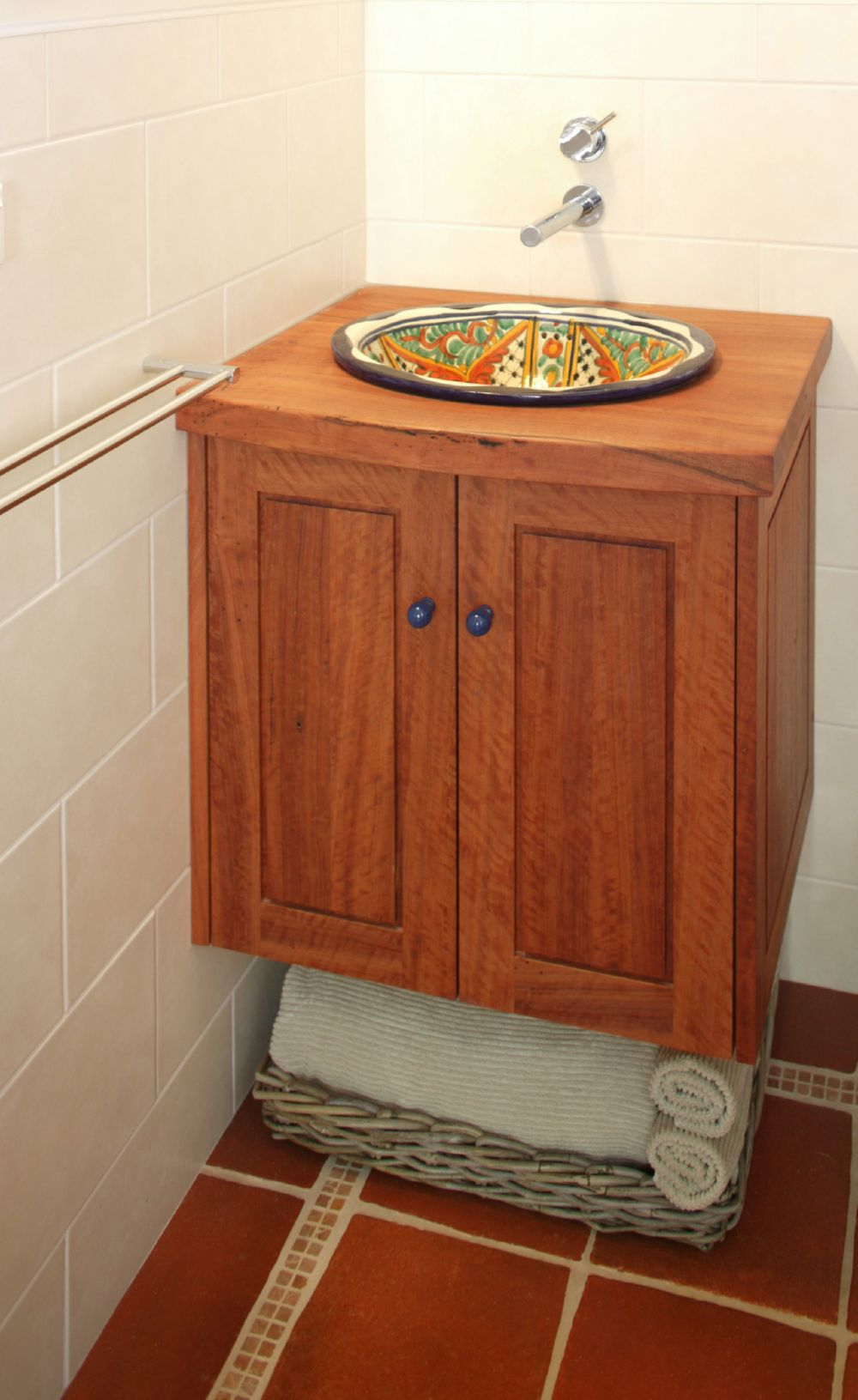 Select Custom Joinery Redgum And Plywood Vanity