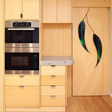 Select Custom Joinery | Timber Bookshelves | Eco Kitchens