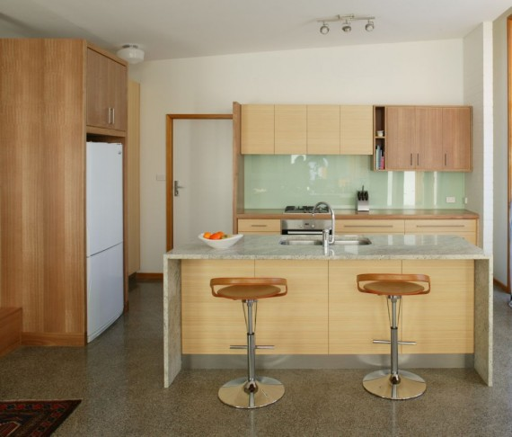 Bamboo And Recycled Timber Kitchen