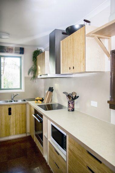 Select Custom Joinery Bamboo Pezzo Kitchen